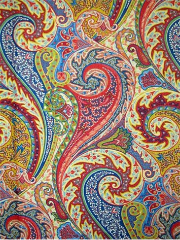 Jaipur Paisley Jewel Waverly Fabric