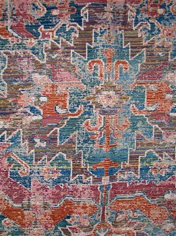 Jarrahman Tabriz Rug Tapestry Fabric
