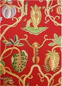 Clarence House Jembala Print 34054 Red