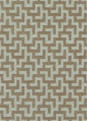 Kenya 65 Jute Geometric Fabric