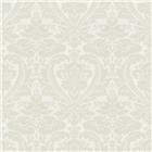 Lansing Damask White
