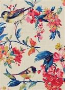 Larissa 541 Blueberry Floral