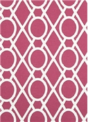 Lattice Bamboo Raspberry