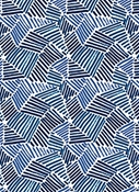 Lewitt Sketch Midnight Domino Fabric