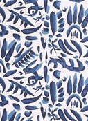 Lacefield Designs Lino Cobalt