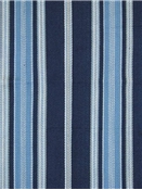 London Stripe Navy Sky