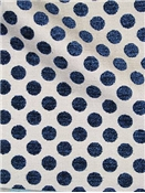Lunita Posie Dot Navy - Kate Spade Fabric