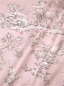 M Musee 704 Dusty Rose Toile