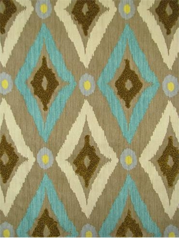 Modern Ikat Pool Robert Allen Fabric