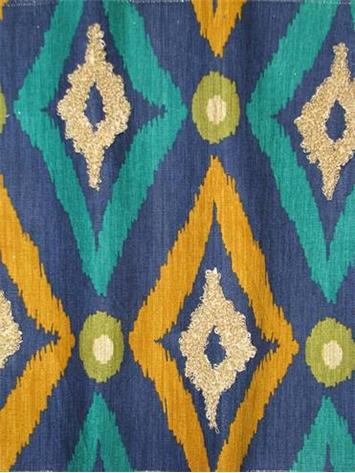 Modern Ikat Ultramarine Robert Allen Fabric