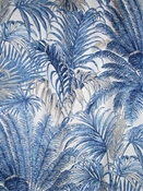 Monte Verde Azul Tropical Fabric