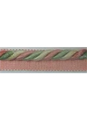 Pink Green Ivory Lip Cord