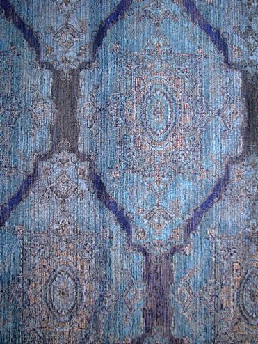 Nazilli Cobalt Decorator Fabric Rooms