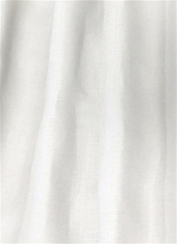 120 Wide Opaque Linen White Linen Fabric By The Yard