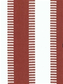 New Ladder Stripe Tibetan Red White Cotton