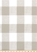 Outdoor Buffalo Check Linen