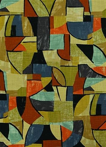 Pablo 699 Earth Retro Art Fabric