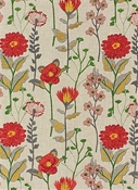 Pastiche Garden Embroidery Fabric