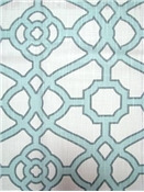 Pavilion Fretwork Tropical Blue