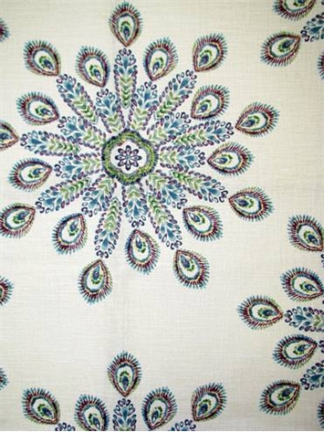 pavo peacock 72058 - Decorator Fabric