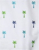 Pindo Palm 548 Isle Waters Tropical Embroidery