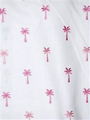 Pindo Palm 73 Petal Tropical Embroidery