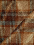 Hickory Amber Chenille Plaid