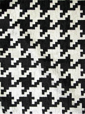 Houndog Black White Fabric By Color