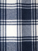 Robinson Navy Flannel Plaid