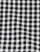 Gingham Check Tyler Black