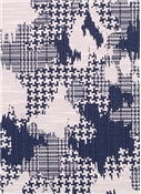 Plaid World Indigo