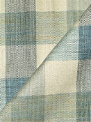 Plateau Ocean Plaid Fabric