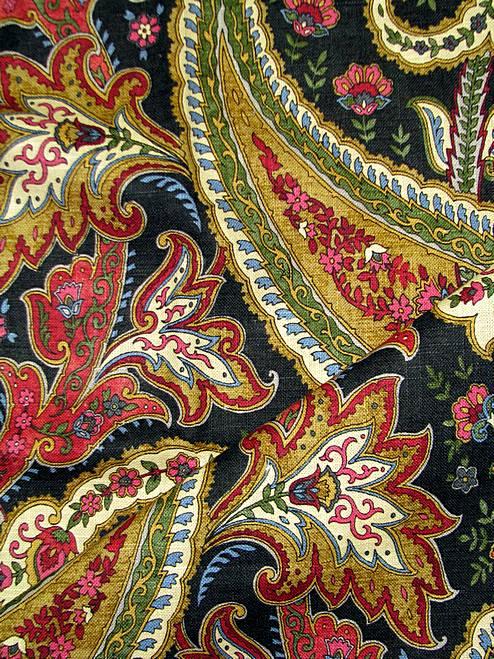 Plumtree Paisley Spice Waverly Fabric