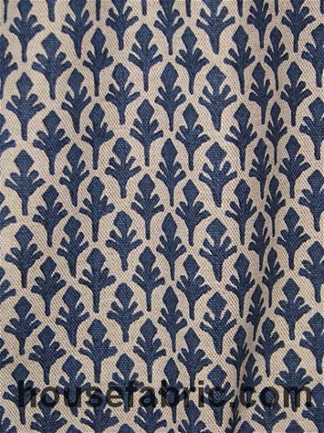 Lacefield Designs Ponce Marine Danish Linen Fabric By Brand