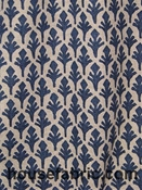 Lacefield Designs Ponce Marine Danish Linen