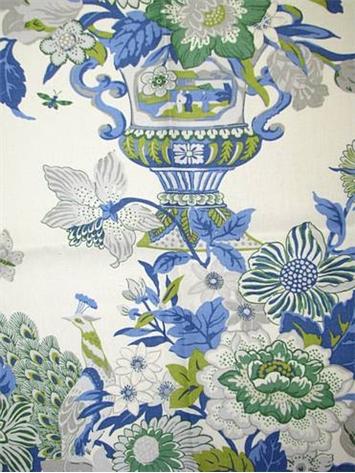 Portobello Vase Laurel Waverly Fabric