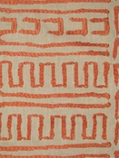 Primitive Sunset Tribal Embroidery