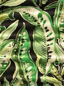 Enrique Leaf Green Print