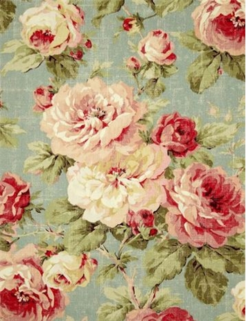 Queen Summer Floral Richloom Fabric