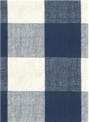 Reagan Plaid Fabric 557 Dark Denim