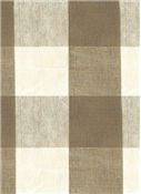 Reagan Plaid Fabric 619 Truffle