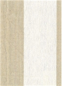Riley Stripe Fabric 196 Linen