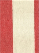 Riley Stripe Fabric 343 Lobster