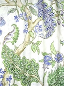 Ravello Periwinkle Jacobean Fabric