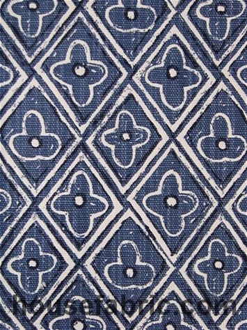 Lacefield Designs Reeva Cobalt Blue Fabric By Brand