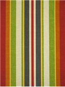 Roxen Stripe Citrus Outdoor Fabric