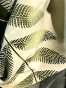 Sago Leaf Fern Tropical Fabric