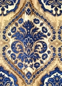 Saxon 1231 Navy Upholstery fabric
