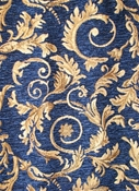 Saxon 4678 Navy Upholstery Fabric