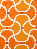 Scallop Mango Bella Dura Fabric